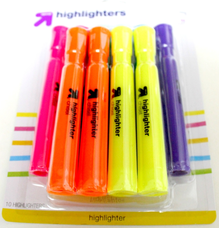 Highlighters Shot