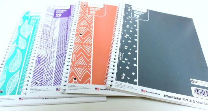Notebooks Shot